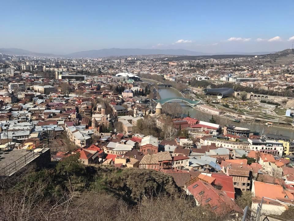 Тала Калатай и Юлия Зорий побывали в Грузии