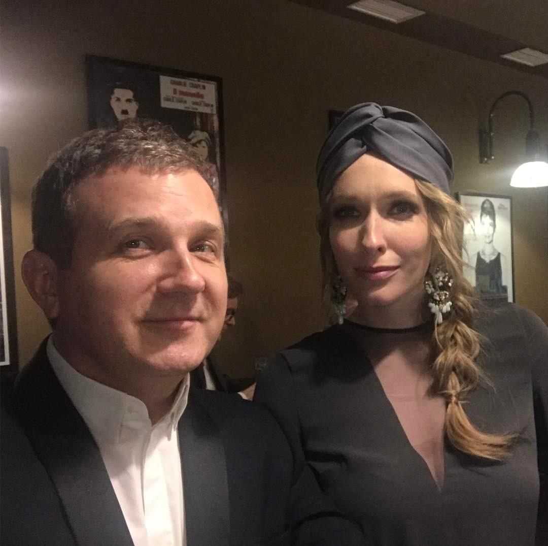 Катя Осадчая опубликовала селфи с супругом Юрием Горбуновым