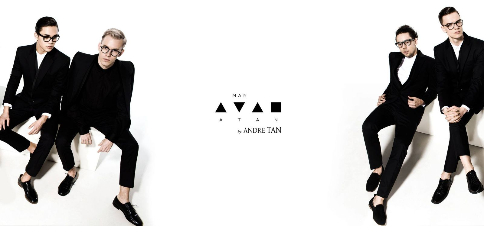 Андре Тан снял красавцев-парней в своей новой фотосессии