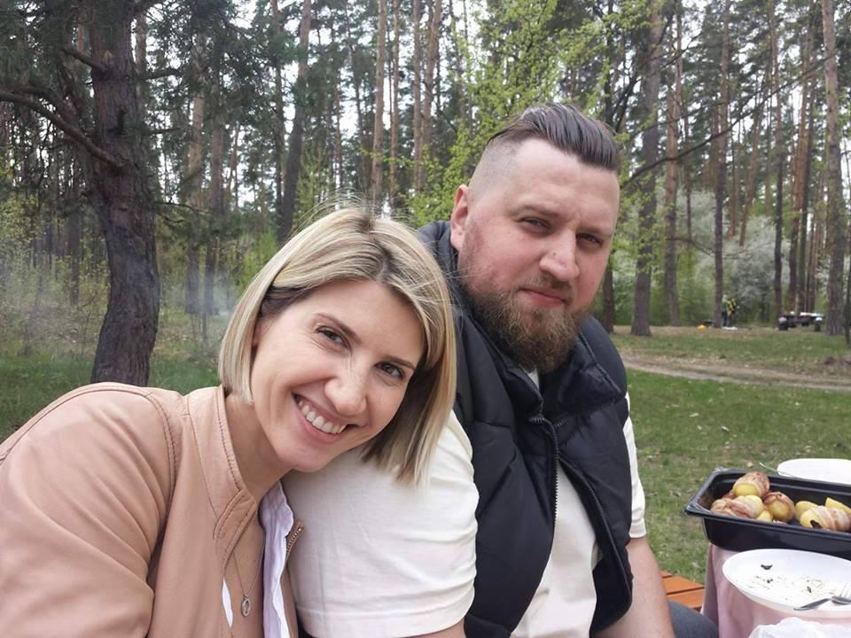 Анита Луценко и победитель 1-го сезона шоу «Зважені та щасливі» Николай Ворошнов