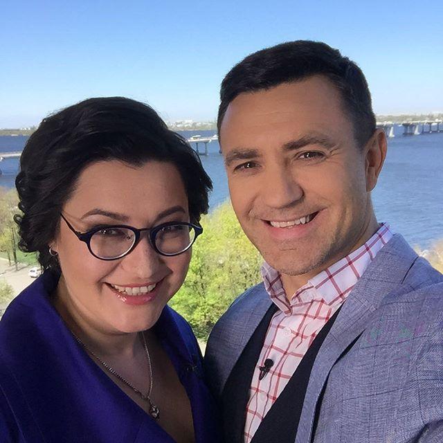 Первое фото в роли ревизора: Николай Тищенко позирует с Анной Жижой