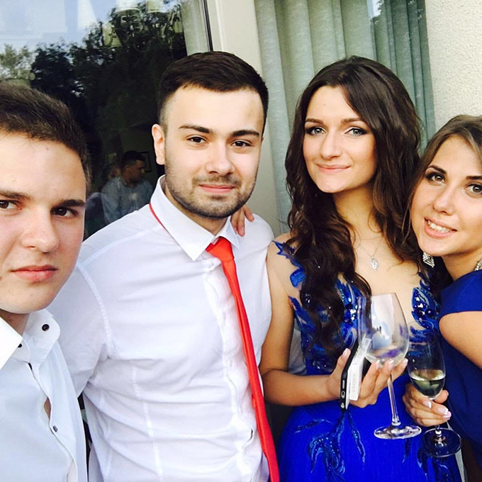 Сын Александра Шовковского отгулял выпускной в университете