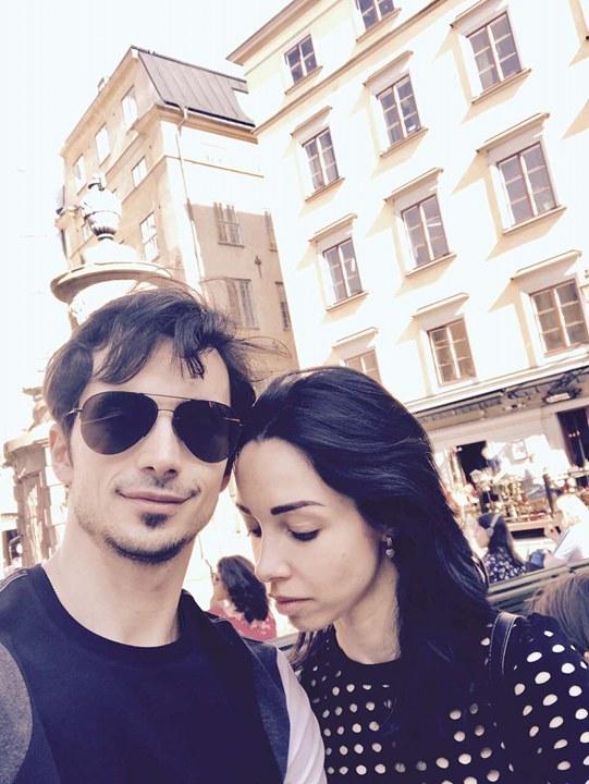 Екатерина Кухар и Александр Стоянов устроили себе каникулы в Стокгольме