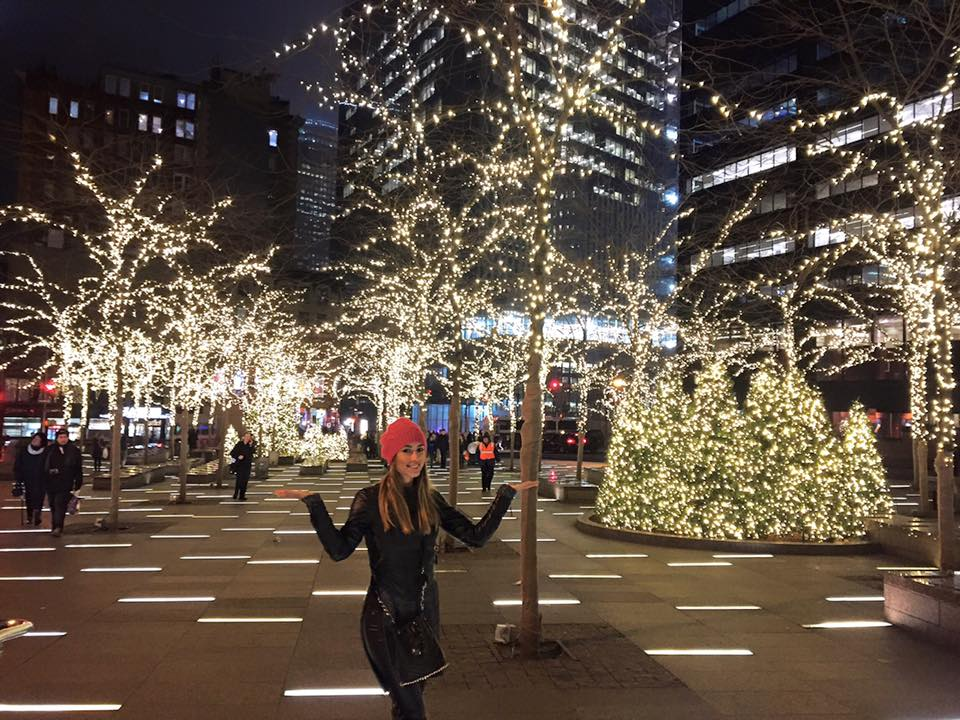 """Привет Чмерковскому: победительница шоу """"Холостяк"""" побывала в Нью-Йорке"""