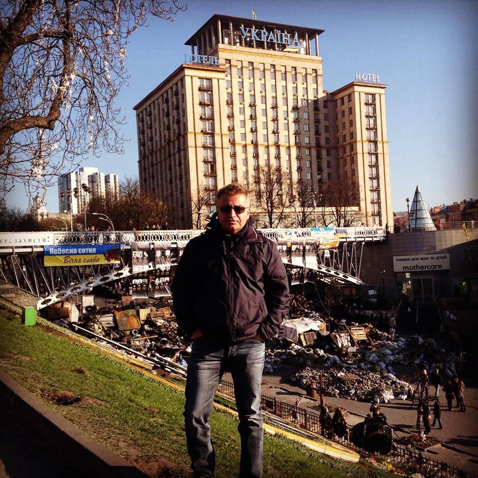 Леонид Агутин Киев Майдан фото