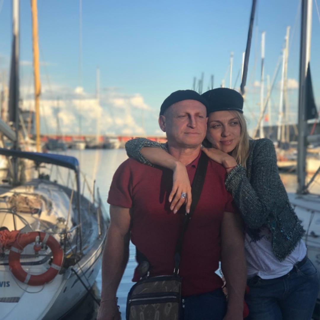 Оля Полякова призналась мужу в любви и показала редкое совместное фото