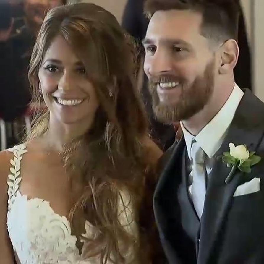 Лионель Месси женился на своей возлюбленной: первые фото и видео с роскошной свадьбы