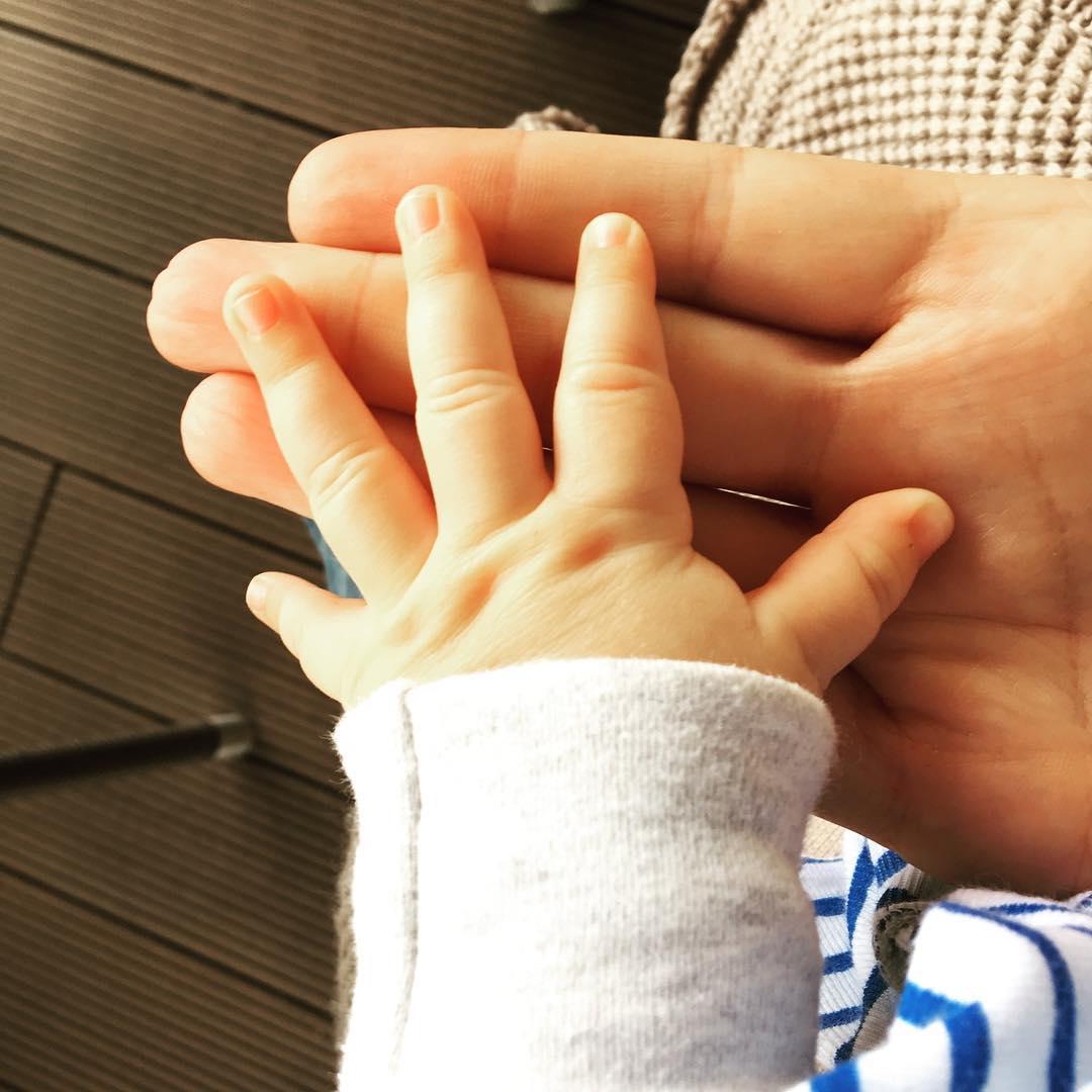 Катя Осадчая поделилась умилительным снимком с подросшим сыном