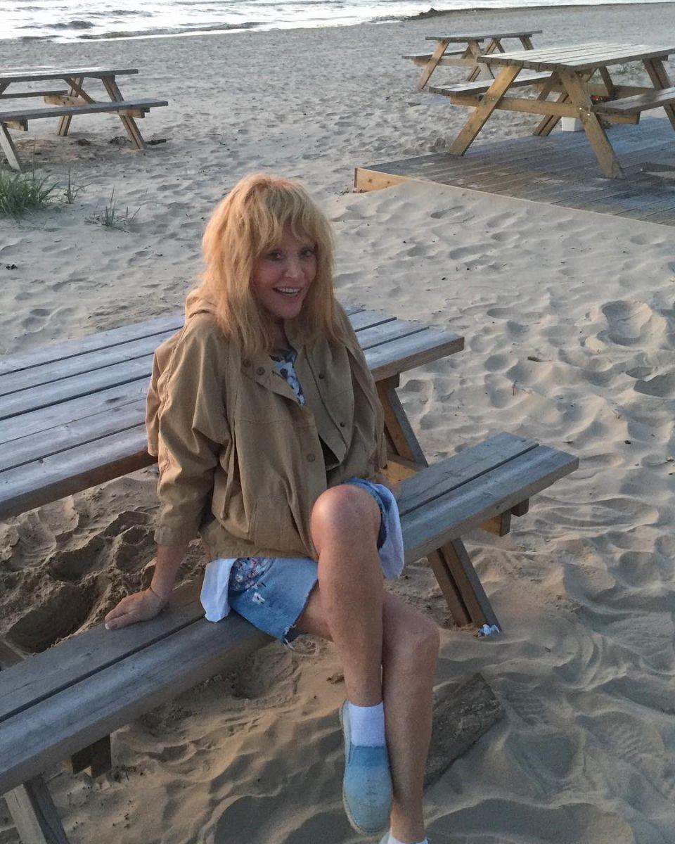 Алла Пугачева и Максим Галкин провели романтический вевчер на берегу моря