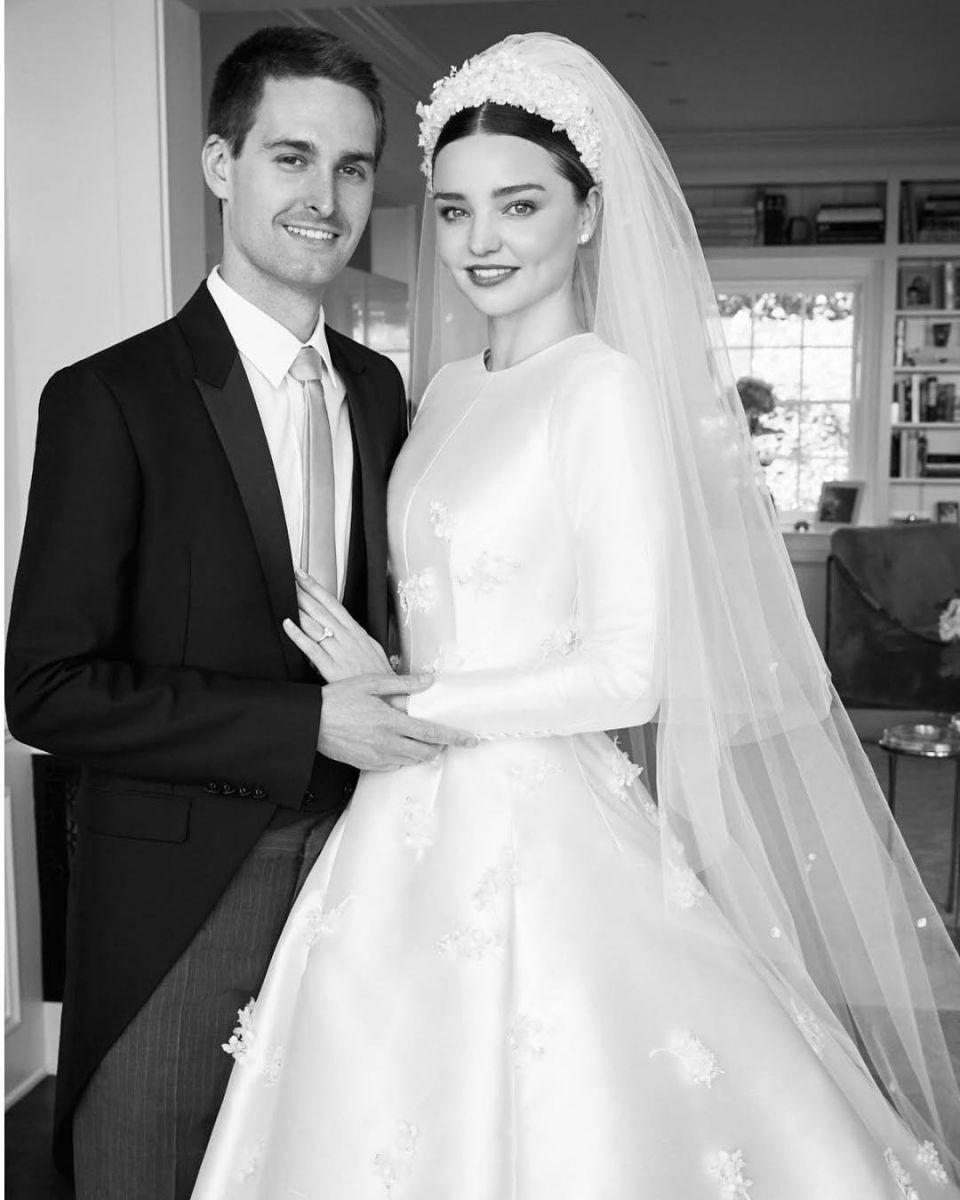 Миранда Керр показала свои свадебные фото