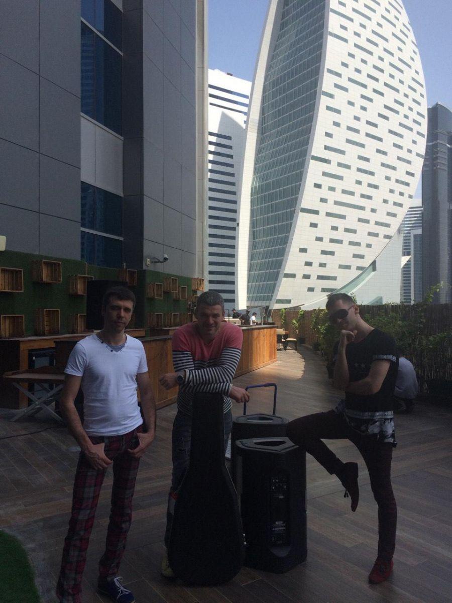 Арсен Мирзоян побывал в ОАЭ