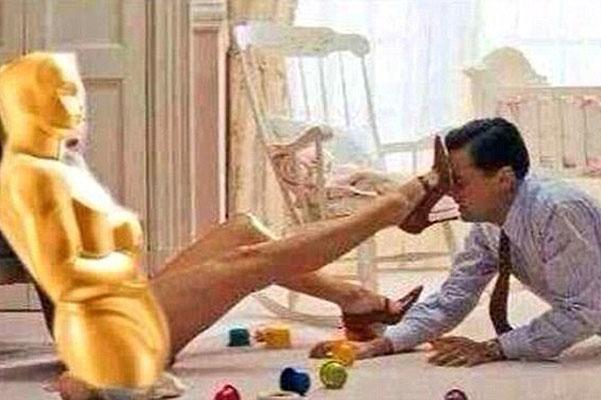 Леонардо Дикаприо оскар мемы