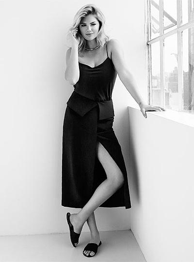 Не только сексуальна, но и умна: Кейт Аптон рассказала о фигуре и амбициях