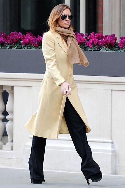Линдсей Лохан покорила публику элегантным стилем в Лондоне