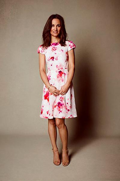Пиппа Миддлтон создала свою первую мини-коллекцию одежды
