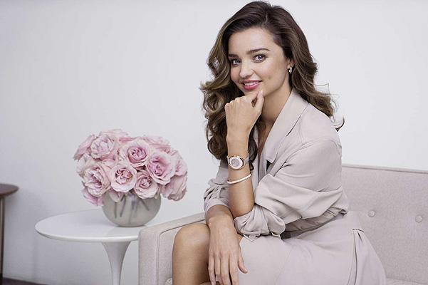 Элегантная Миранда Керр блистает в рекламе ювелирного бренда