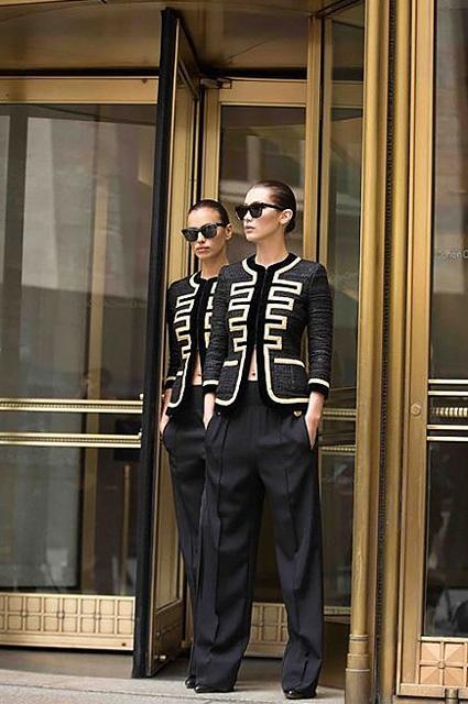 Ирина Шейк и Белла Хадид блистают в рекламной кампании Givenchy