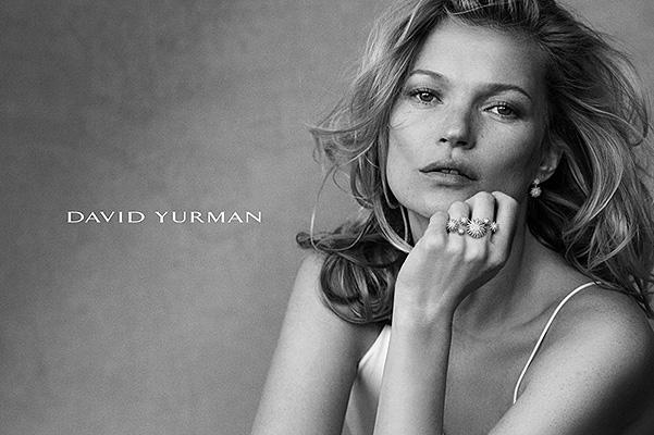 Загадочная и прекрасная Кейт Мосс снялась в рекламе ювелирного бренад
