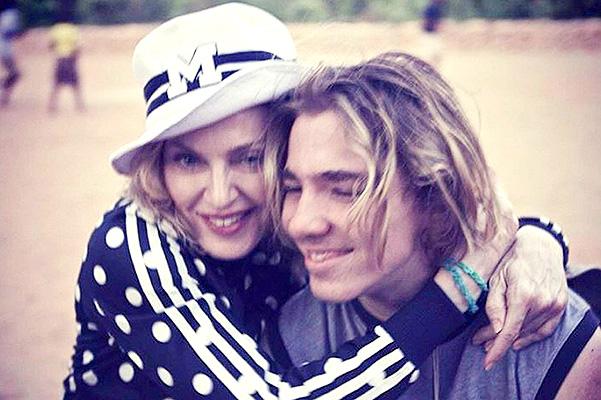 """Мадонна об ушедшем из дома сыне: """"Я так скучаю по этому мальчику!"""""""