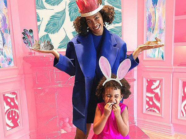 В стране чудес: Бейонсе организовала сказочный день для малышки-дочери