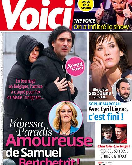 Ванесса Паради влюбилась: первое фото актрисы с новым мужчиной