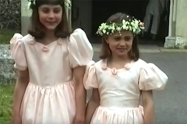 Подружки невесты: сеть взорвало детское видео Кейт и Пиппы Миддлтон