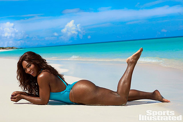 Вот это формы: Серена Уильям позирует в откровенных купальниках для Sports Illustrated