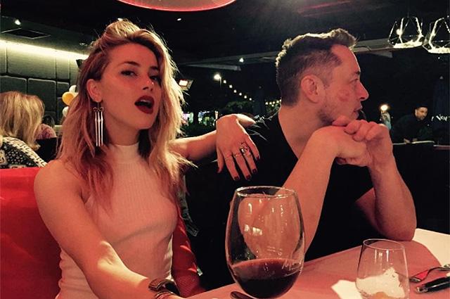 Илон Маск впервые опубликовал в Instagram фото своей возлюбленной Эмбер Херд