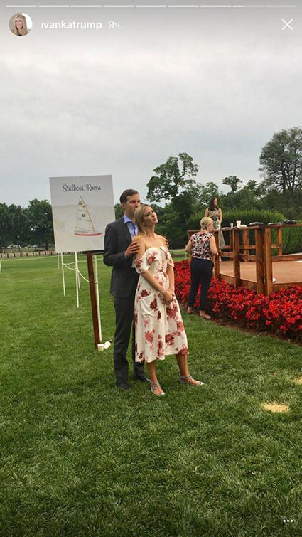 Все в сборе: Дональд, Мелания и Иванка Трамп с детьми на пикнике в Белом доме
