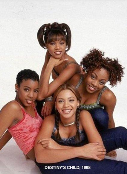 20 лет назад: Бейонсе поделилась архивными фото группы Destiny's Child