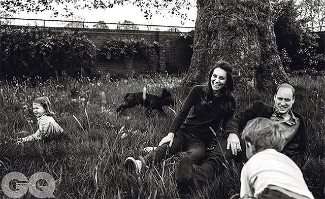 Просто и искренне: в сети появился новый семейный снимок Кейт Мидлтон и принца Уильяма с детьми