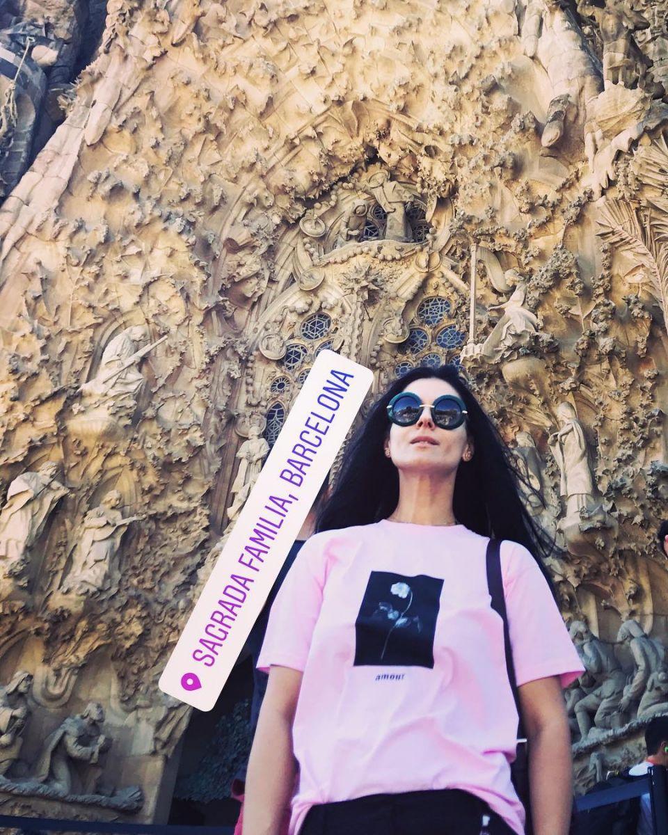 Маша Ефросинина отдыхает в Испании