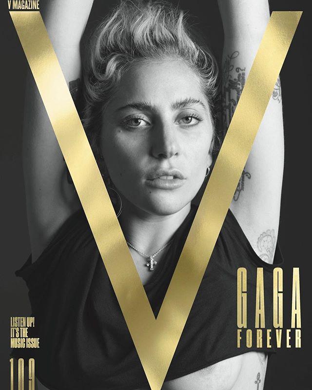 Леди Гага шокировала поклонников внешним видом на обложке глянца
