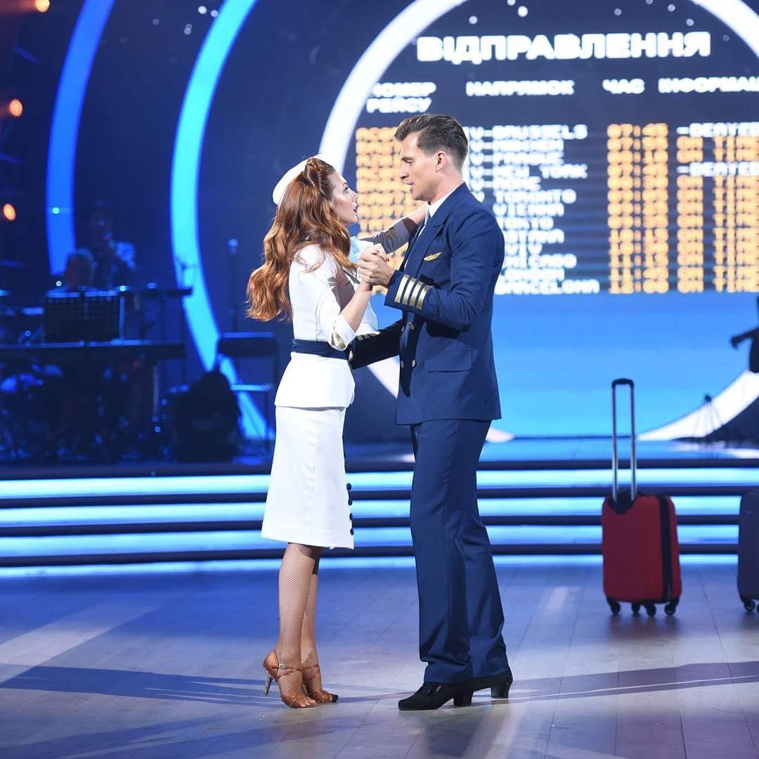 "Шоу ""Танці з зірками"" покинула первая пара"