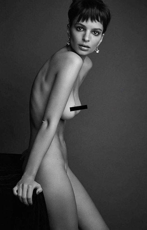 Полностью голая и со стрижкой под мальчика: в сети обсуждают новую сьемку Эмили Ратаковски