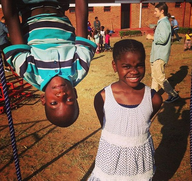 Мадонна отметила День благодарения в Малави