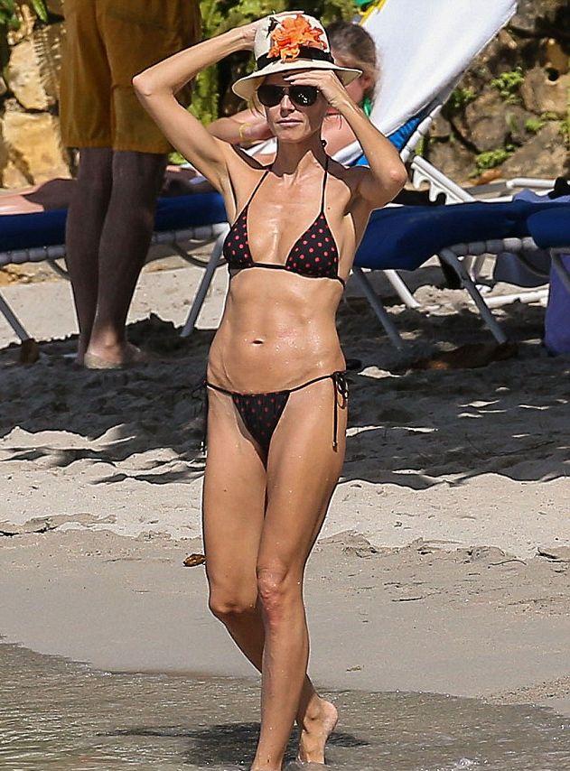 Хайди Клум показала фигуру в бикини