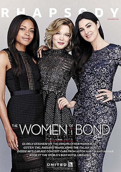 Девушки Бонда: Моника Белуччи, Леа Сейду и Наоми Харрис снялись в стильной фотосессии для глянца