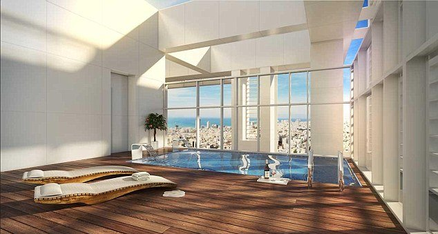 Мадонна показала свой пентхаус в Тель-Авиве стоимостью 20 миллионов долларов