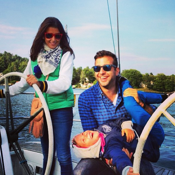 Иван Ургант и его семья: жена и дочери
