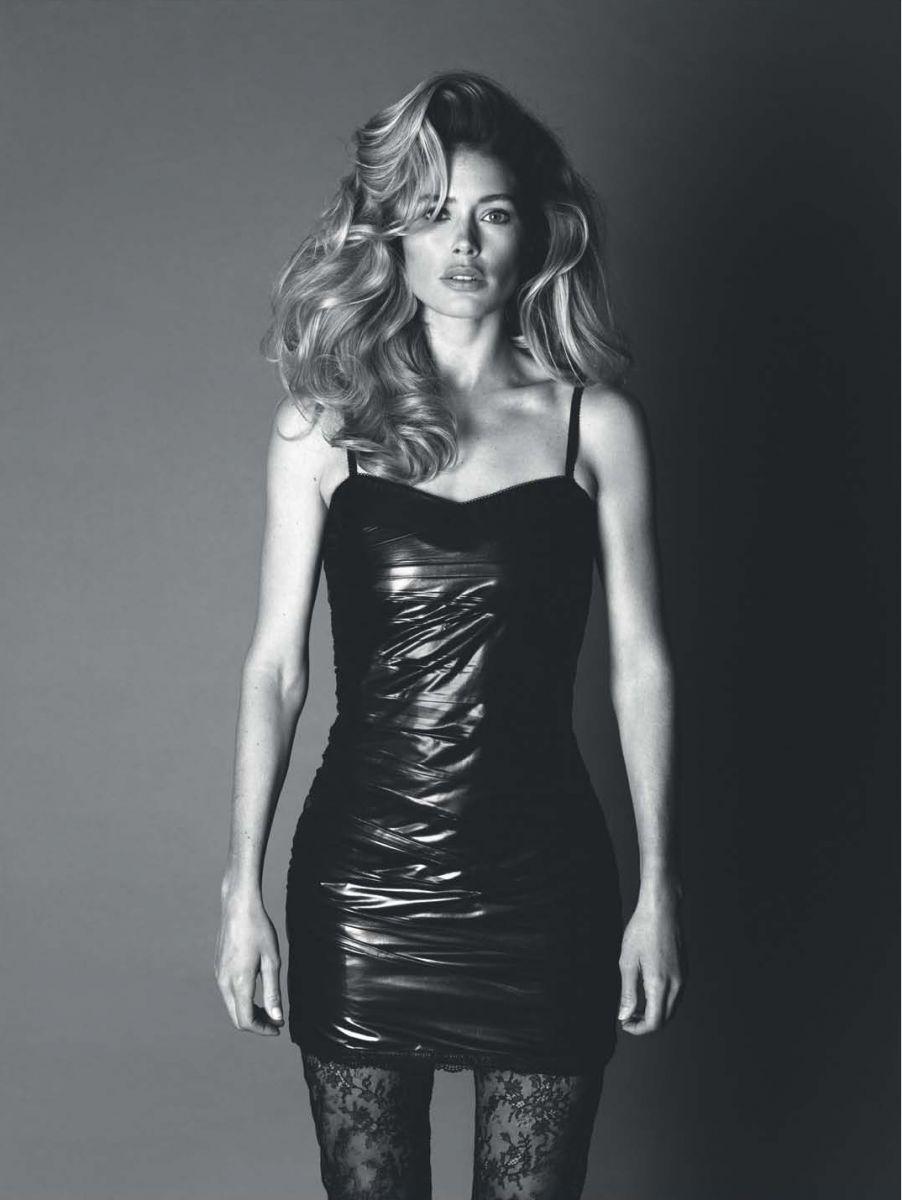 Даутцен Крус блистает в стильной черно-белой фотосессии для глянца