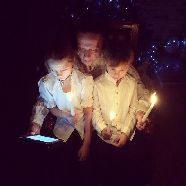 Иван Охлобыстин фото дети Украина Евромайдан Беркут 2014