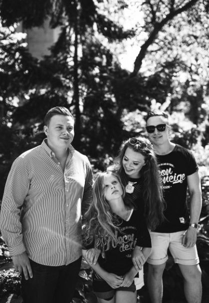 Ольга Фреймут встретилась с семьей бывшего мужа