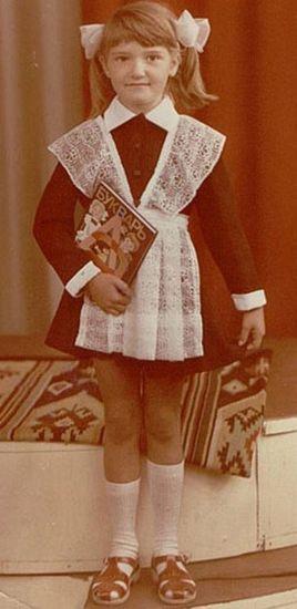 Наталья Могилевская в детстве