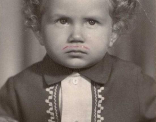 Юрий Горбунов в детстве