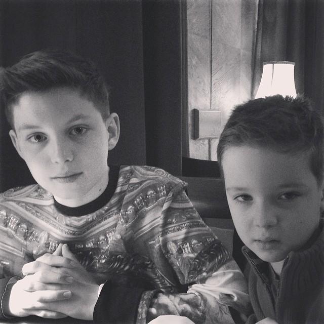 Алика Смехова дети семья сыновья фото инстаграм
