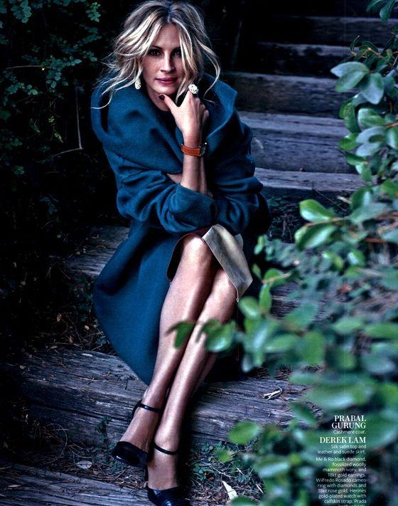 Джулия Робертс очаровывает красотой в новой фотосессии