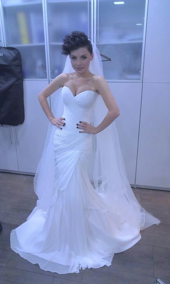 Наташа Гордиенко. Подготовка к свадьбе? Фото с Фейсбук певицы