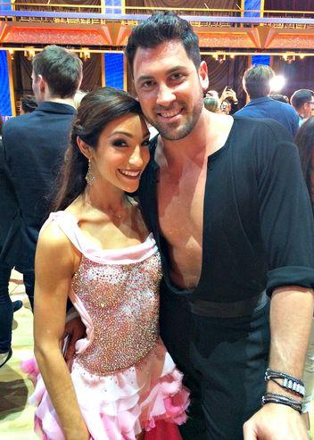 СМИ: Максим Чмерковский закрутил роман с партнершей по танцам?