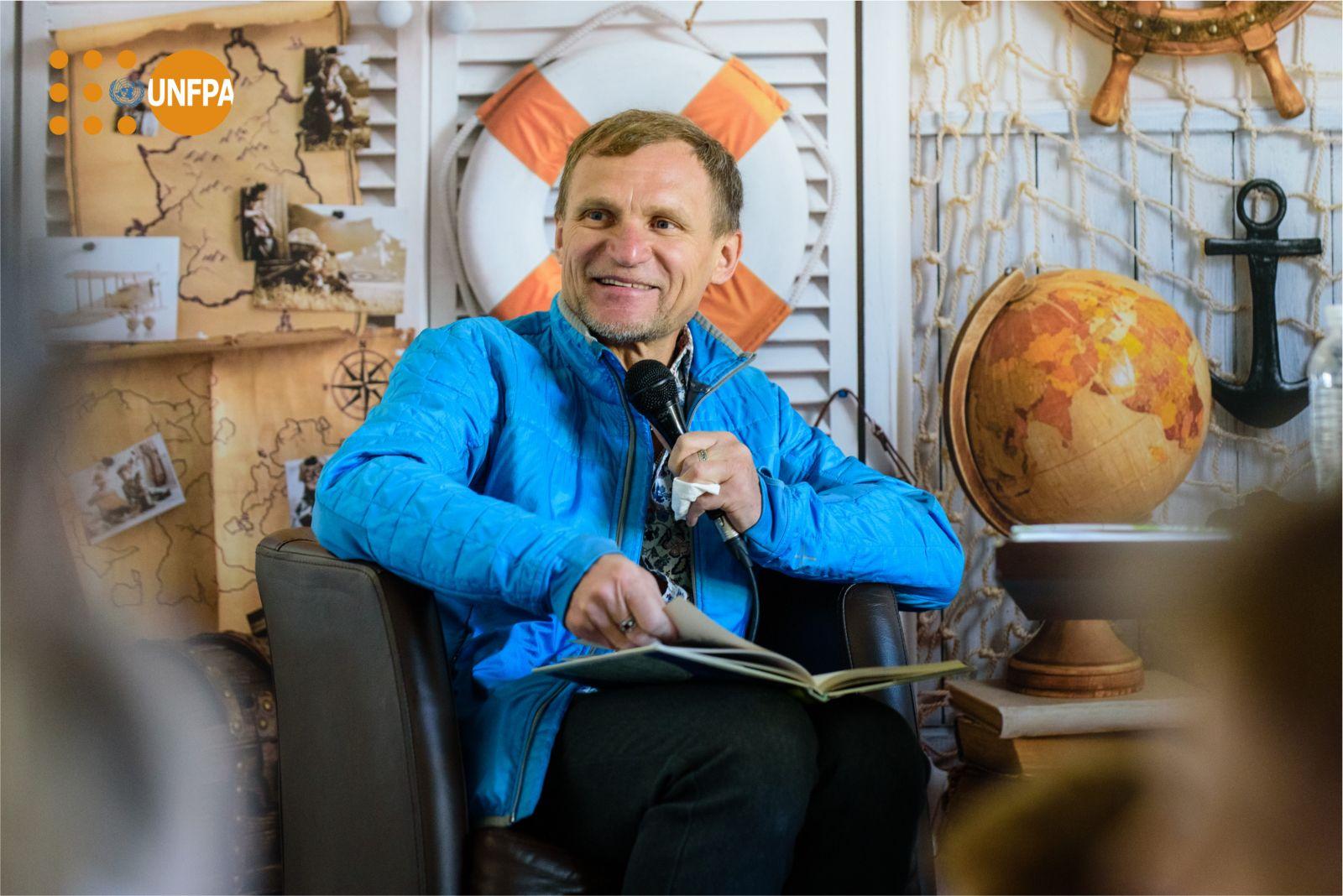 Влад Яма, Евгений Кошевой, Тарас Тополя, Олег Скрипка и Василий Вирастюк рассказали, как проводят время со своими детьми